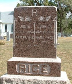 Julie Anna <I>Ambross</I> Rice