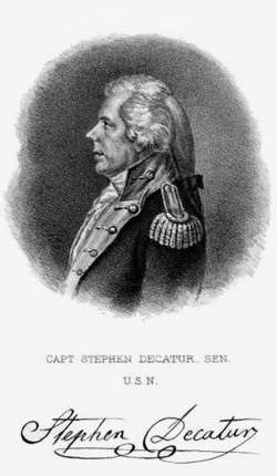 Stephen Decatur Sr.