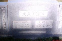 Lucille <I>Dorman</I> Aaron