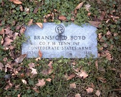 Pvt Bransford Boyd