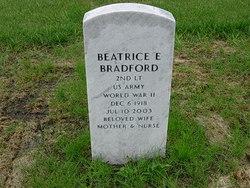"Beatrice Effie ""Bea"" Bradford"