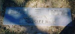 Willie Maurine <I>Walker</I> Cooper