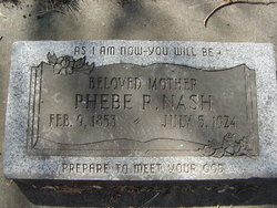 Phebe R Nash