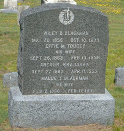 Effie M <I>Toucey</I> Blackman