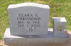 Clara <I>Simpson</I> Chrismond