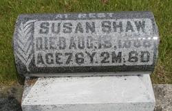 Susanna <I>Wise Mosey</I> Shaw