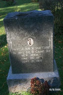 PVT Albin N. Mattson