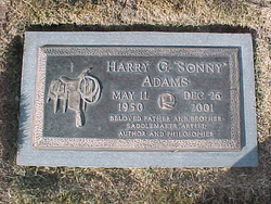 "Harry Gordon ""Sonny"" Adams, Jr"