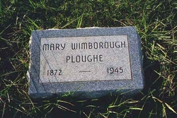Mary <I>Wimborough</I> Ploughe