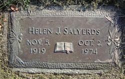 Helen Josephine <I>Stimpfel</I> Salyerds