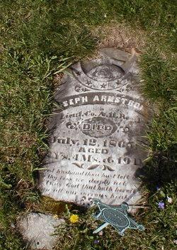 Lieut Joseph Armstrong