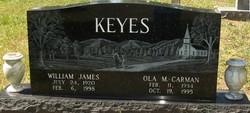 William James Keyes