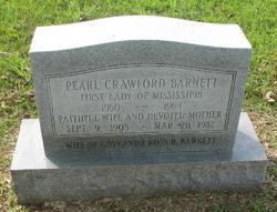 Pearl <I>Crawford</I> Barnett
