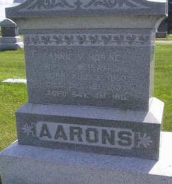 Annie V <I>Horine</I> Aarons