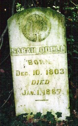 Sarah <I>Holman</I> Odell