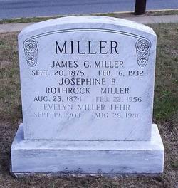 Josephine B. <I>Rothrock</I> Miller