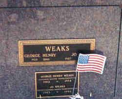 George Henry Weaks