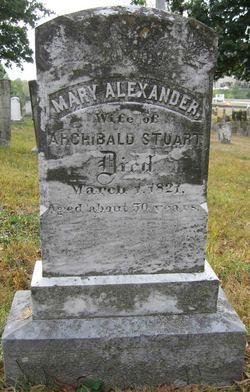 Mary <I>Alexander</I> Stuart