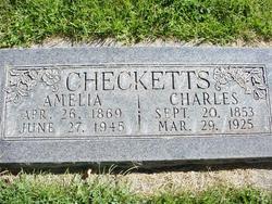 Martha Amelia <I>Welch</I> Checketts
