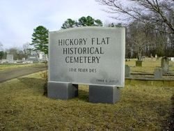 Hickory Flat Cemetery