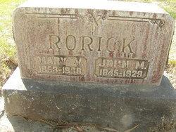 Mary V <I>Armentrout</I> Rorick