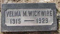 Velma M Wickwire