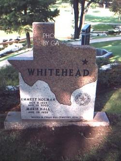 Emmett Holman Whitehead