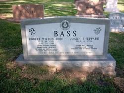 """Robert Wilton """"Bob"""" Bass"""