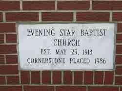 Evening Star Baptist Church Cemetery