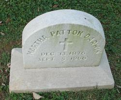 Martha <I>Patton</I> Darwin