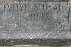 Evelyn <I>Schaad</I> Daniels