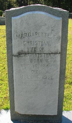 Margarette E. <I>Bagwell</I> Christian
