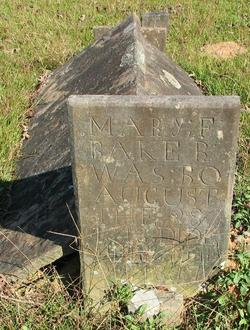 Mary F. <I>Bagwell</I> Baker