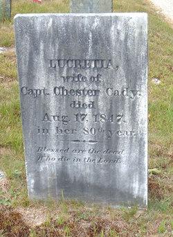 Lucretia <I>Richardson</I> Cady