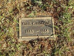 Coral Cecil <I>Curtiss</I> Anderson