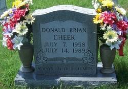 Donald Brian Cheek