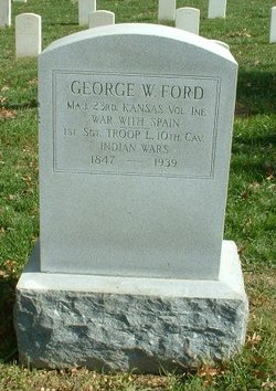 MAJ George William Ford, Sr