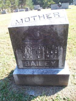 Zilpha Jane <I>Griffith</I> Bailey