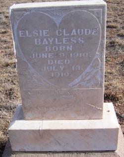 Elsie Claude Bayless
