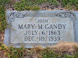 "Mary A. ""Josh"" <I>McConnell</I> Gandy"