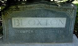 "Elizabeth Grace ""Bessie"" <I>Vaughan</I> Bloxton"