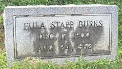 Eula <I>Stapp</I> Burks