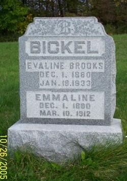 Emmaline <I>Johnson</I> Bickel