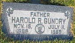Harold Richard Gundry