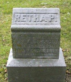 Retha Pearl Simpson