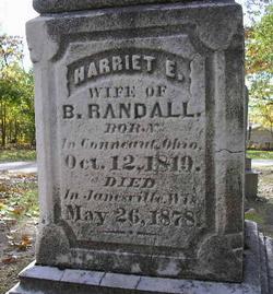 Harriet Eliza <I>Fifield</I> Randall