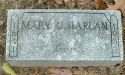 Mary <I>Crundwell</I> Harlan