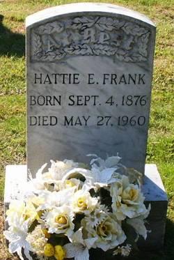 Hattie E. <I>Sullivan</I> Frank