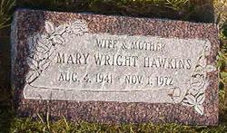 Mary Jane <I>Wright</I> Hawkins