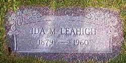 Ida M <I>Regli</I> Leahigh